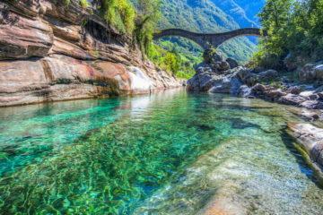 Picture from Valle Verzasca, Ticino, Switzerland were Majka Baur grew up